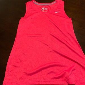 Nike dri-fit sleeveless workout tank